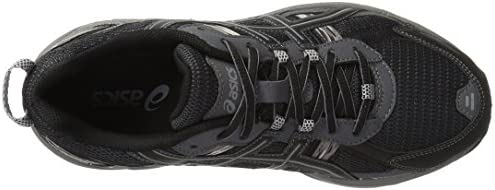 41IeihueynL. AC ASICS Men's GEL Venture 5 Running Shoe    The GEL-Venture 5 provides great fit and everyday comfort, with Rearfoot GEL Cushioning and a rugged outsole ideal for a variety of terrains. ImportedRubber soleOutdoor-ready runner with mesh and brushstroke-patterned underlaysRearfoot GEL cushioningRemovable sockliner accommodates medical orthoticsTrail-specific outsole with reversed traction lugsAHAR outsole rubber in critical high-wear areas