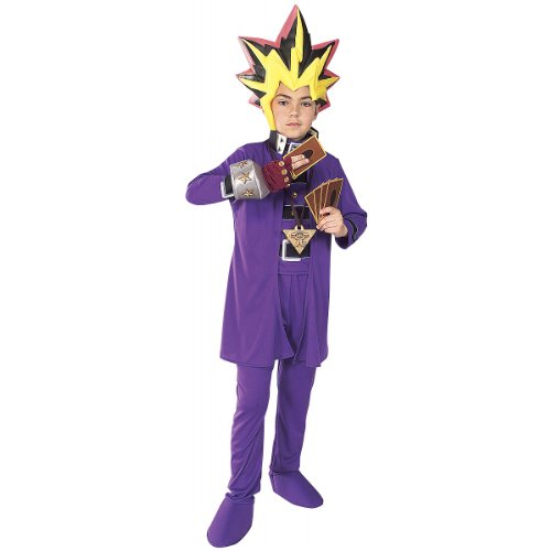 Yugioh Costumes (Yu Gi Oh Deluxe Child Costume - Large)