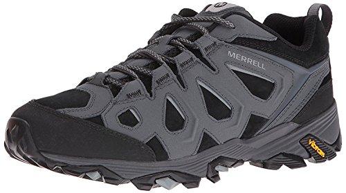 Merrell Mens Moab FST LTR Hiking Shoe, Negro (black/Granite), 45 D(M) EU/10.5 D(M) UK