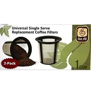 Para filtros de café de repuesto para als, juego de 2, diseño de jardín, césped, Mantenimiento