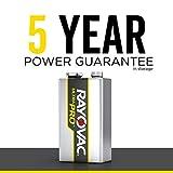 Rayovac 9V Batteries, Ultra Pro Alkaline 9V Cell