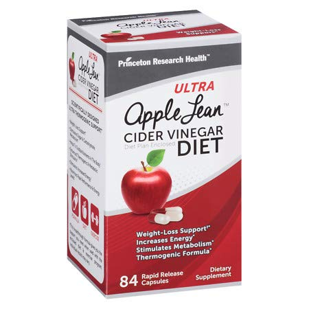 Princeton Research Ultra Apple Lean Cider Vinegar Diet - 84 Ea (Pack of 18)