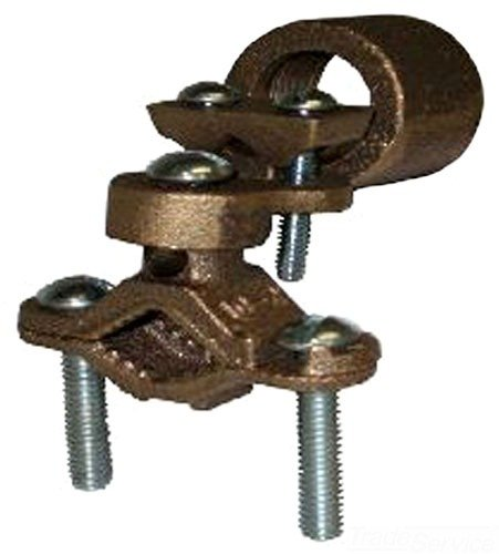 L.H. Dottie 271L Grounding Clamp with Hub, 1-1/4-Inch to 2-Inch Pipe, 25-Pack by L.H. Dottie