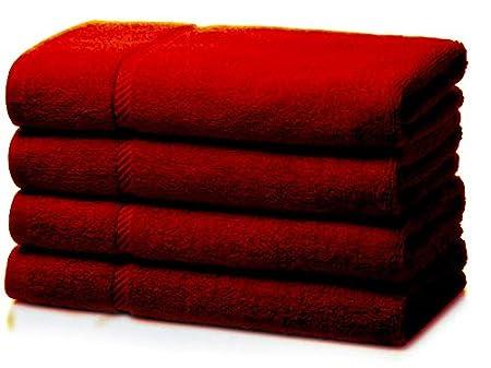 Blue MSQ 4 X 100/% Cotton Jumbo Budget extra Large /& Big Bath Towel Sheet 100cm*155cm