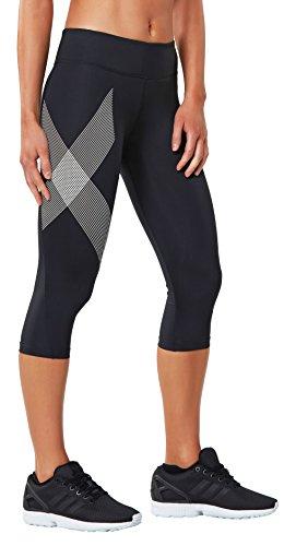2xu Wa2865b Mujer Blanco Compresivo Pantalón T0rw8T
