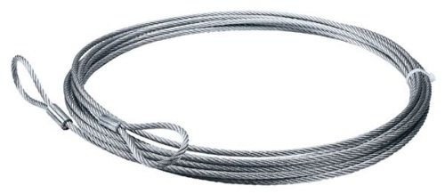 50' Galvanized Winch Cable - 7