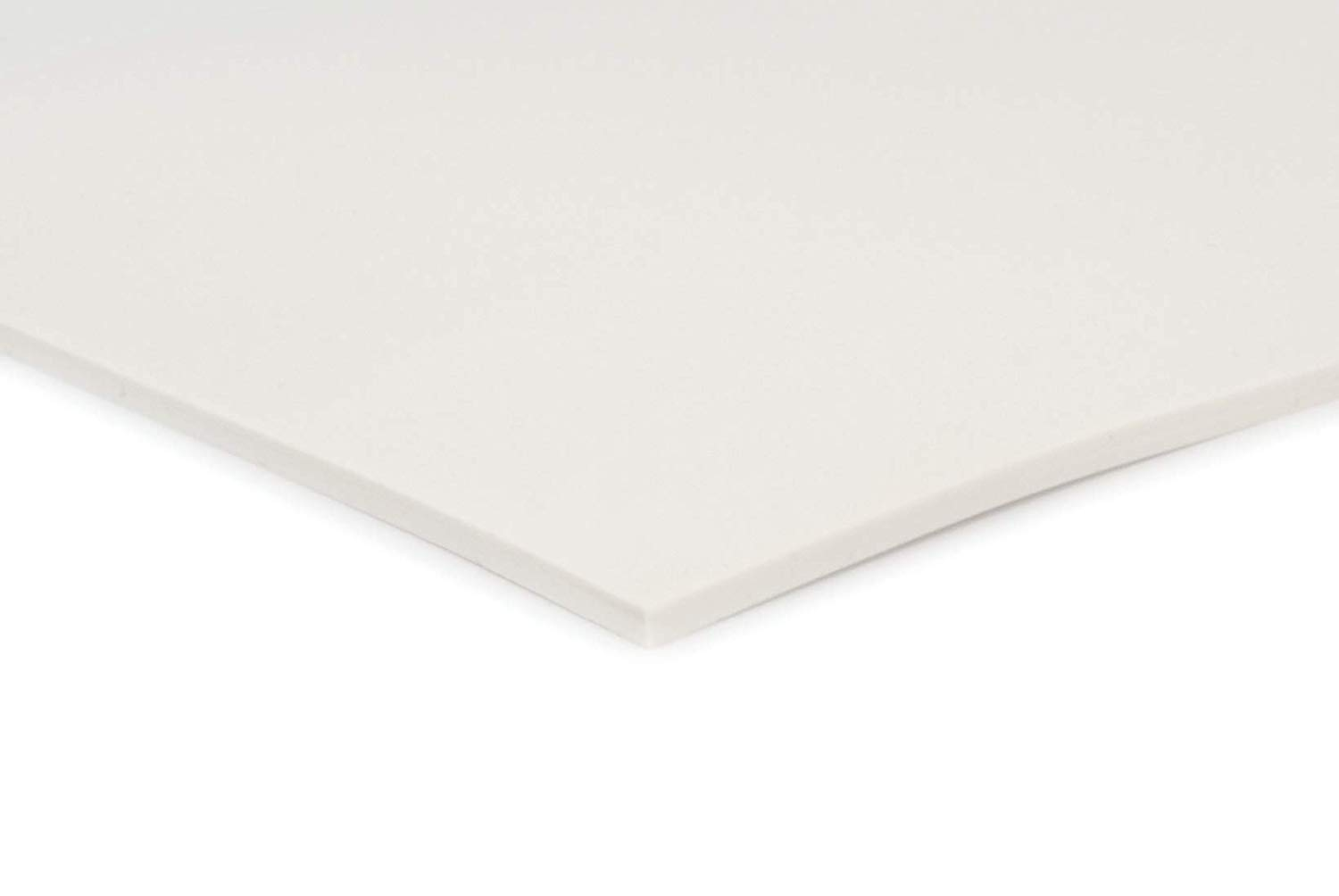 420mm x 297mm White Silicone Rubber Sheet 3mm Thick Size A3