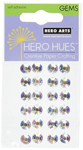 Hero Arts Adhesive Gemstones-Diamond Gems 7mm 20/Pkg
