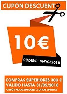 ROMMER Congelador vertical Look inox 144 cm Cv24: Amazon.es ...