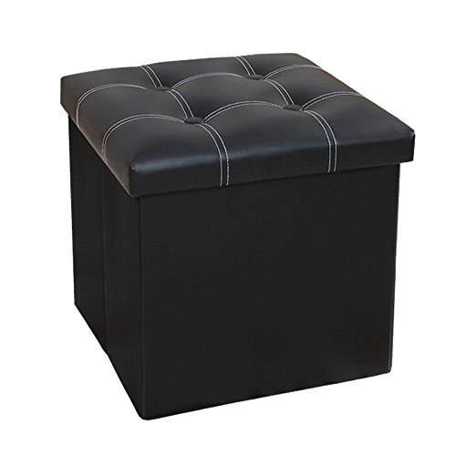 Amazon Com Insassy Folding Storage Ottoman Bench Foot