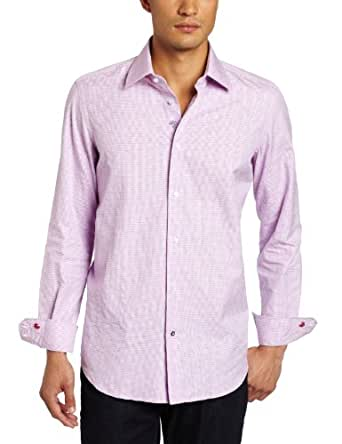 Robert Graham Men's Oliver Rc, Lavender, 16