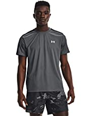 Under Armour Heren UA Speed Stride korte mouw licht sportshirt met reflecterende details, korte mouwen heren T-shirt