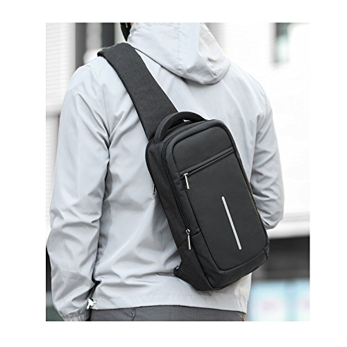 Bag Bag A Bag Bags Outdoor Chest Shoulder School A Casual Messager Messenger Sports Canvas Env66q