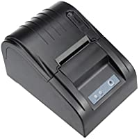 Xfox 5890T Thermal Printer - 90mm/sec High Speed POS Thermal Receipt Printer Compatible 58mm Thermal Paper Rolls with USB Port ESC POS Print Commands Set US Standard