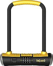 OnGuard Bulldog Combo U-Lock, 4.5x9-Inch