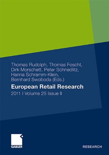 European Retail Research 2011, Volume 25 Issue II (German Edition) ebook