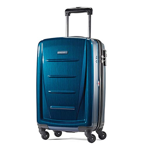 (Samsonite Carry-On, Deep Blue)