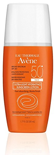 Avene Ultra-Light Hydrating Sunscreen Lotion SPF 50+ Face 1.7 fl. (Hydrating Lotions)