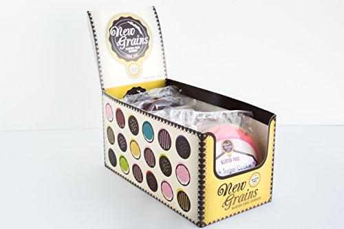 New Grains Gluten Free Variety Cookies Box (10 - 4