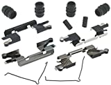 ACDelco 18K1686X Professional Front Disc Brake Caliper Hardware Kit with Clips, Springs, Seals, and Bushings