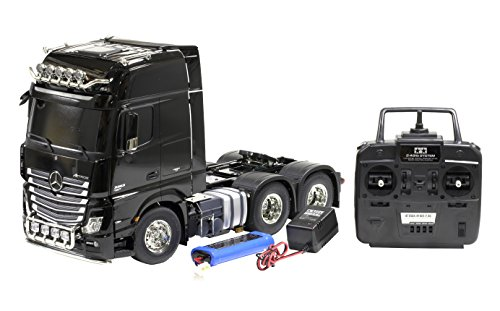 TAMIYA 1/14 RC Big Truck Series No.47 Mercedes-Benz Actros 3363 6 × 4 giga space full set of operations (Tamiya Rc Truck)