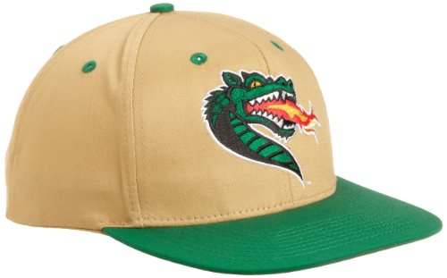 NCAA UAB Blazers Primary Logo College Snap Back Team Hat, Yellow, One Size