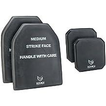 EMG Tactical Dummy Training SAPI Plate Insert with Side Plates Size Medium (Set of Four)