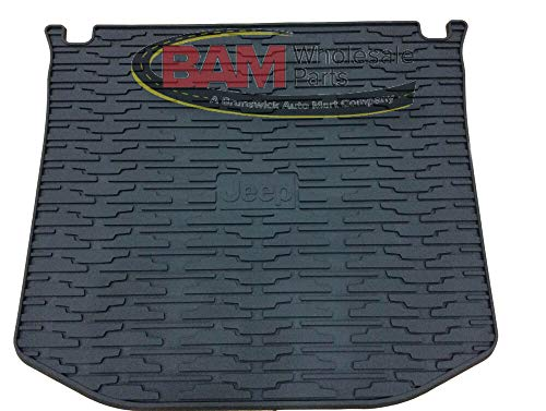 Compatible for 2011-2019 Jeep Grand Cherokee OEM Rubber Rear Cargo Mat 82212085 Mopar