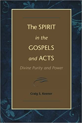 Book Spirit in the Gospels and Acts, The: Divine Purity and Power