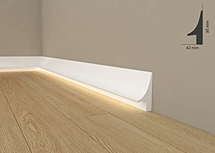 """Luz barra inferior """" Wiesemann QL007 pulgada - zócalos para iluminación indirecta (a partir"""