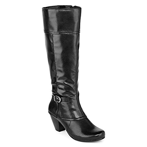 Yuu Cathry Auburn Riding Boots (Black)
