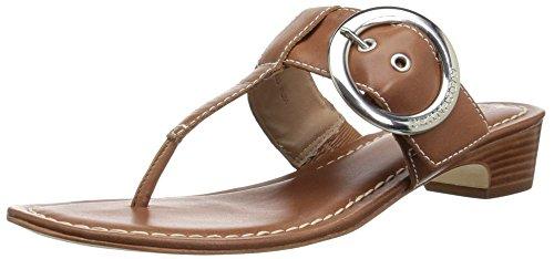(Bernardo Women's Grace Wedge Sandal Luggage Antique Calf 7M M US)