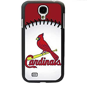 MLB Major League Baseball St. Louis Cardinals Logo Samsung Galaxy S4 SIV I9500 TPU Soft Black or White case (Black) by mcsharks