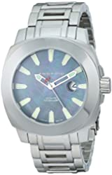 ANDROID Men's AD658BK Parma Analog Japanese-Automatic Silver Watch