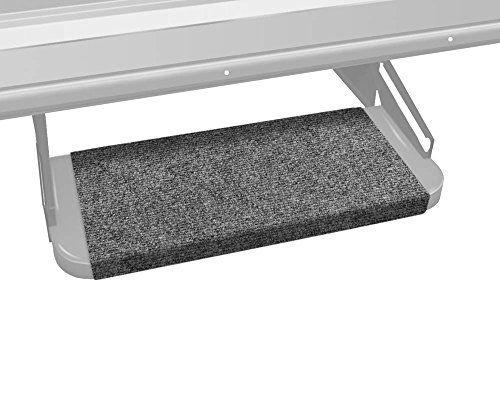 Prest-O-Fit 2-0313 Outrigger RV Step Rug Castle Gray 18 In. Wide (Patio Rug Prest Fit O)