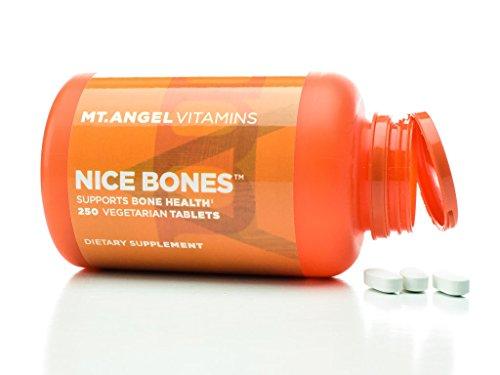 Mt. Angel Vitamins - Nice Bones, Supports Bone Health ( 250 Vegetarian Tablets)