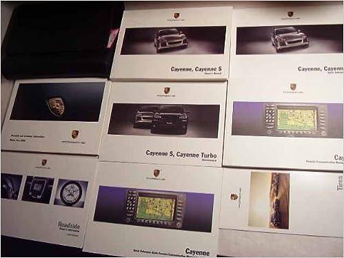 2008 Porsche Cayenne, Cayenne S Owners Manual: Porsche: Amazon.com: Books