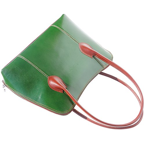 Florence Leather Market - 216 mujer Negro - Green-brown