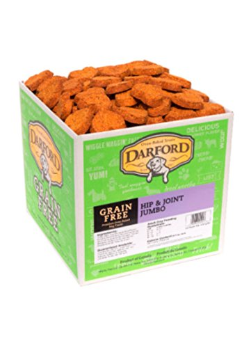 Darford Naturals Treat Grain-Free Hip/Joint Treat, Jumbo/19 lb by Darford