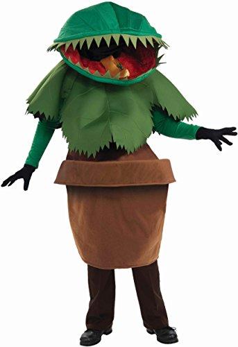Unisex - Adult Venus Flytrap Costume, Green, One Size (Adult Flower Halloween Costume)