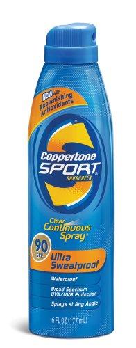 Coppertone Sport C spray Antioxidants 6 Ounce