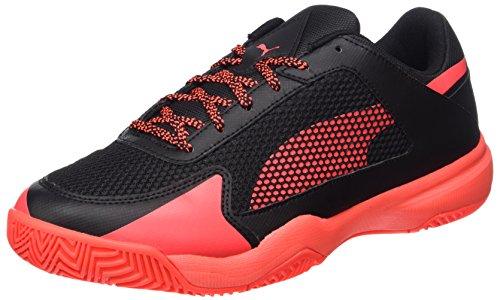 Puma Unisex Adulto Evospeed Indoor Nf 5 Indoor Scarpe Orange (black-ignifugo Corallo)