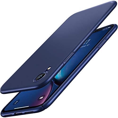 RANVOO iPhone XR Case, Slim Fit Ultra Thin Hard PC Matte Basic Minimalist Cover Anti-Scratch Anti-Fingerprint Case iPhone XR 6.1 inch (2018), Blue