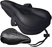 Gel Bike Seat Cover Comfortable Bike Seat Cushion Bicycle Seat Cover Bicycle Saddle Cover Padding Cushion for