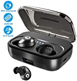 Bluetooth Earbuds Wireless Headphones Bluetooth Headset Wireless Earphones IPX7 Waterproof Pasonomi Bluetooth 5.0 Stereo Bass Hi-Fi Sound 72H Playtime with 2200mAH Charging Case
