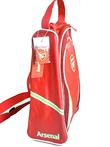 Arsenal F.C. Authentic Official Licensed Soccer Shoe Bag by RHINOXGROUP (Image #1)