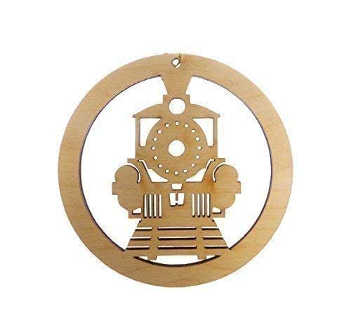 Personalized Train Ornament