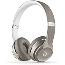Beats Solo2 WIRED On-Ear Headphones Luxe Edition NOT WIRELESS - Silver (Refurbished)