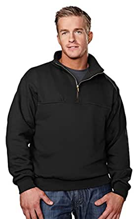 Big Mens 12 oz. 1/4 Zip Pullover Sweatshirt