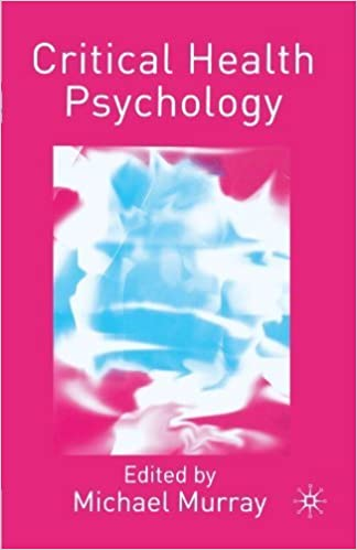 Book Critical Health Psychology (2004-04-24)